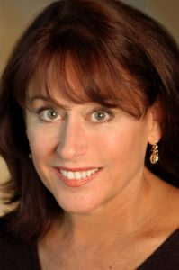 Helena Ruoti plays a woman who vies with two vexing guys in 'Downstairs.' (photo courtesy of the artist)