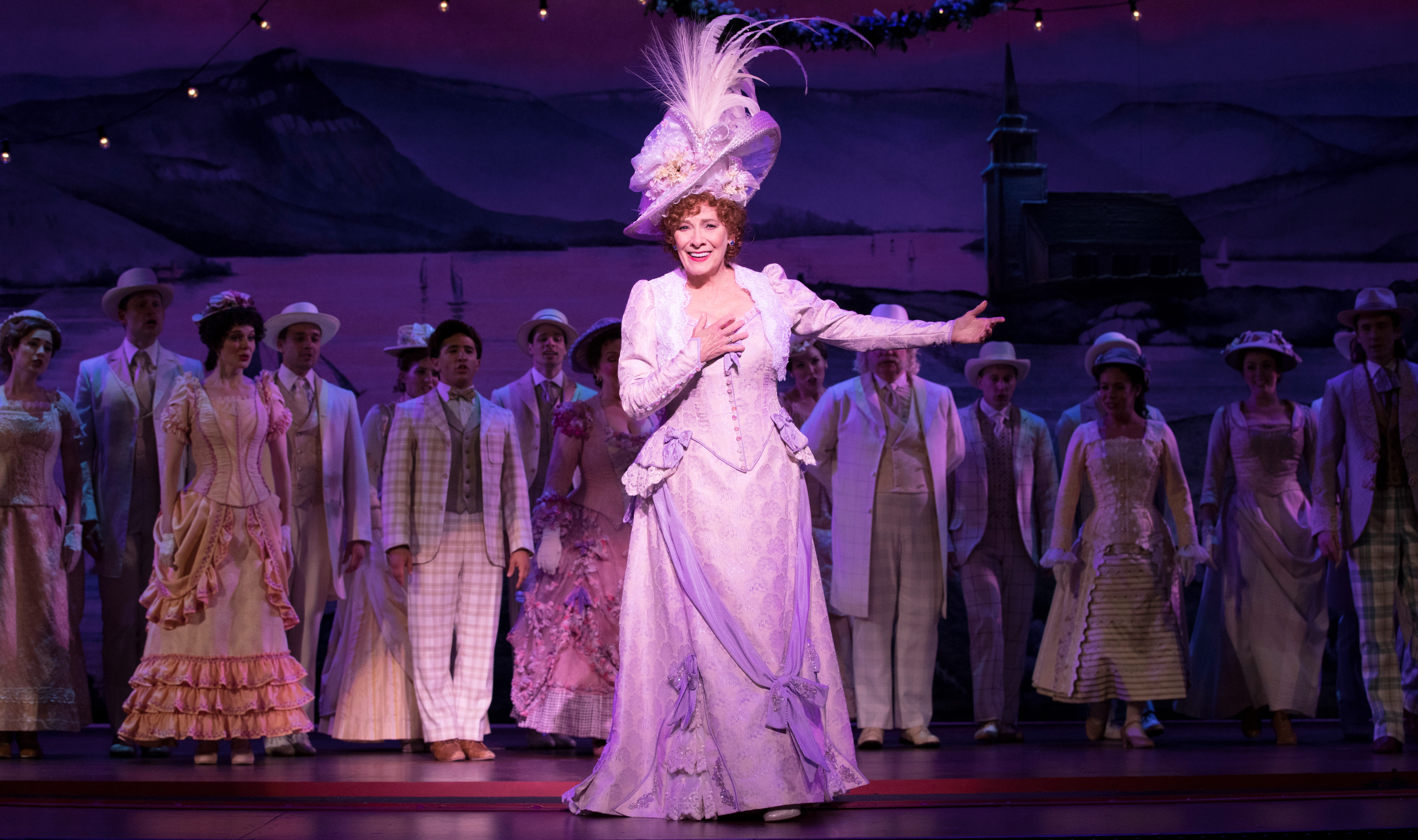 Betty Buckley as matchmaker Dolly Gallagher Levi in 'Hello Dolly!' at Pittsburgh CLO. Photo Credit: Julieta Cervantes
