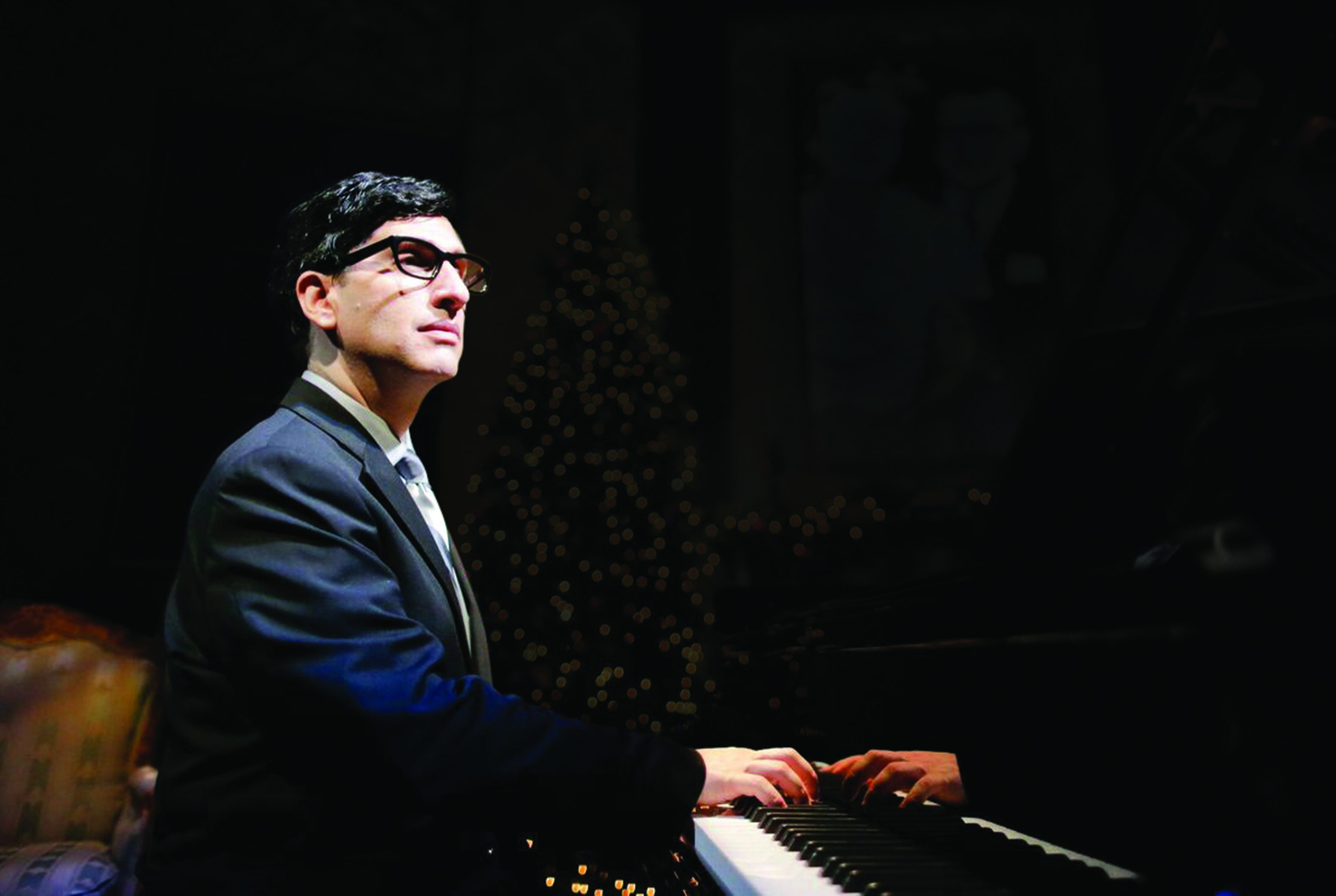 In 'Hershey Felder as Irving Berlin,' pianist and theater artist Felder brings to life a titan of American popular music. (photo courtesy of Mr. Felder)