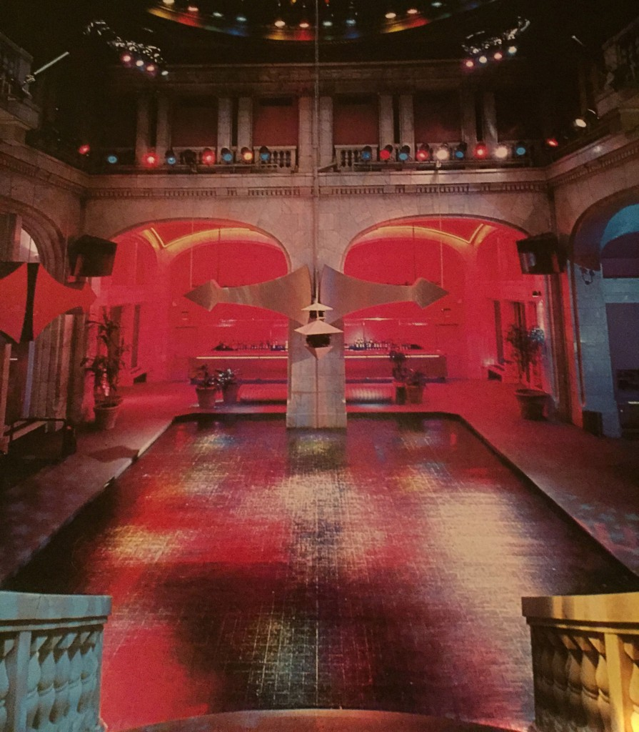 The original Heaven nightclub featured a 1000 foot dance floor. Photo; Rick Stern