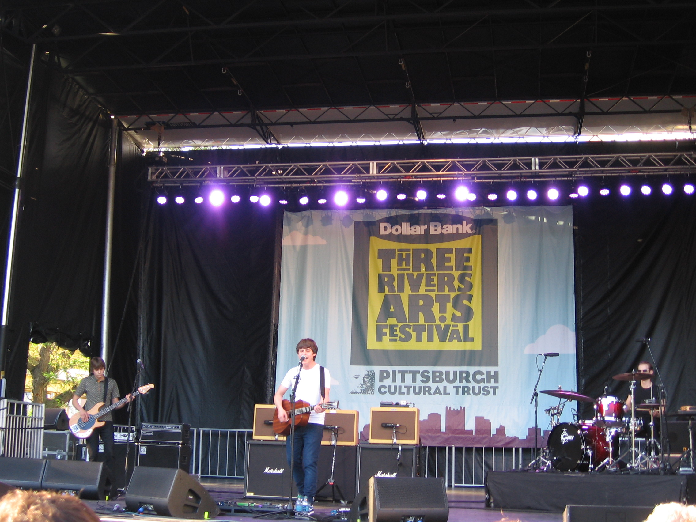 Jake Bugg and band rock out the Three Rivers Arts Festival.