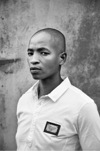 """One of 48 photos from Zanele Muhole's """"Faces and Phases,"""" portraying LGBTI people in South Africa and nearby."""
