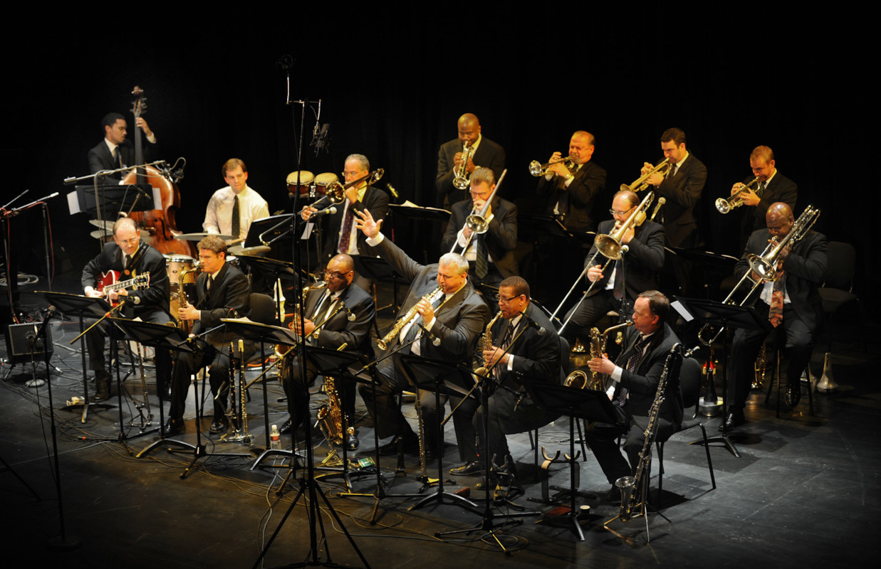 Pittsburgh Jazz Orchestra. (Photo: Martha Rial).
