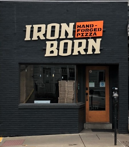 Iron Born bakes Detroit-style pizza in Millvale (shown here) and in the Strip District. (photo: Christopher Maggio)