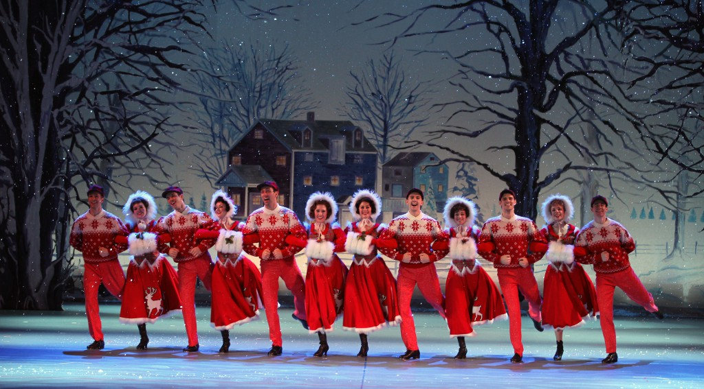 """Irving Berlin's White Christmas 2013,"" national touring company. Photo: Kevin White"