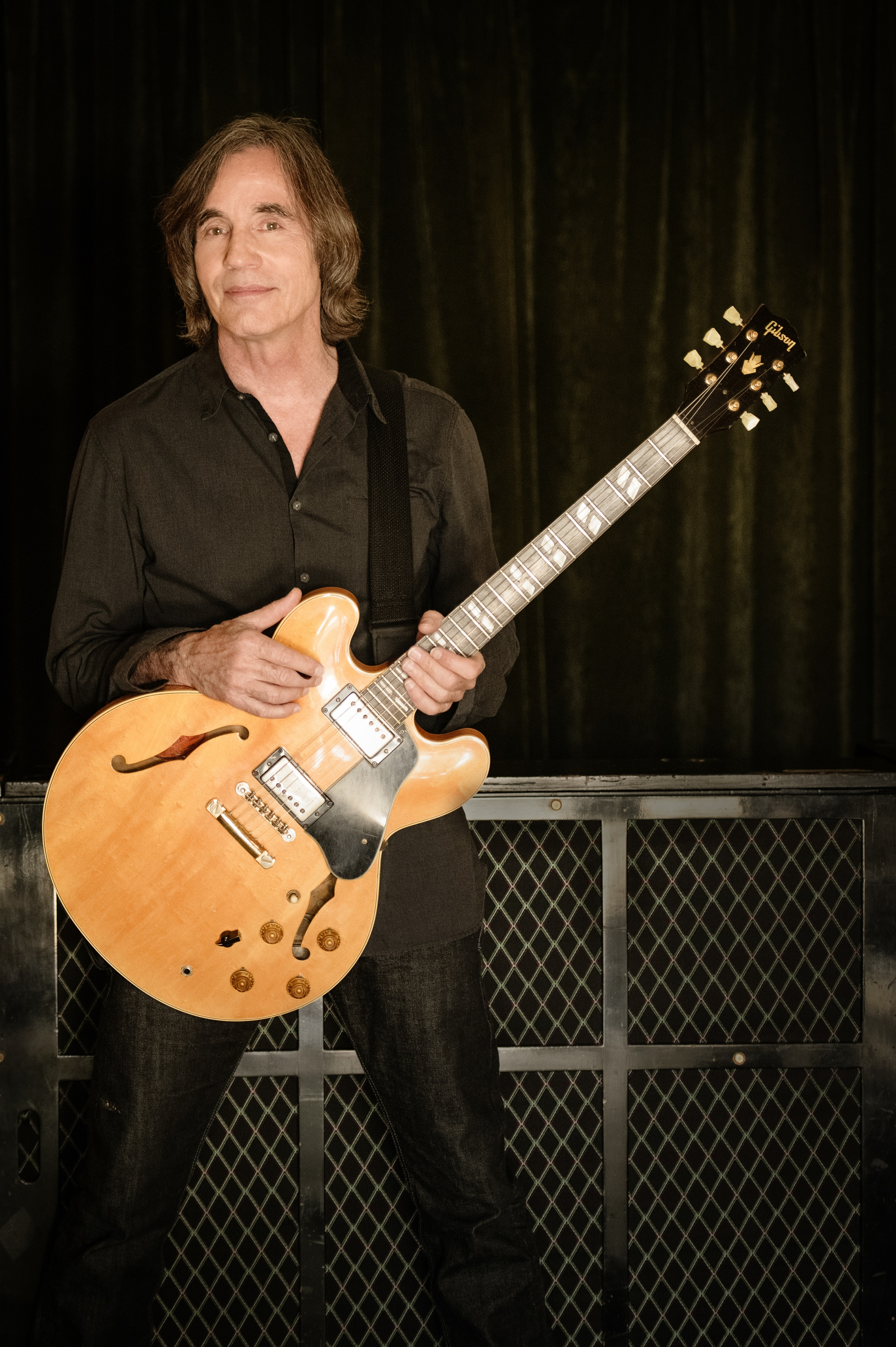 Jackson Browne getting ready for the show. Photo credit: Jackson Browne, courtesy of the artist.