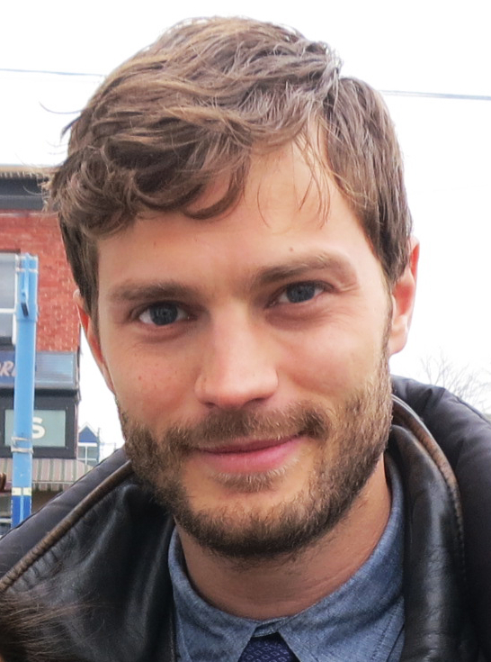 Actor Jamie Dornan. photo: katmtan and Wikipedia.