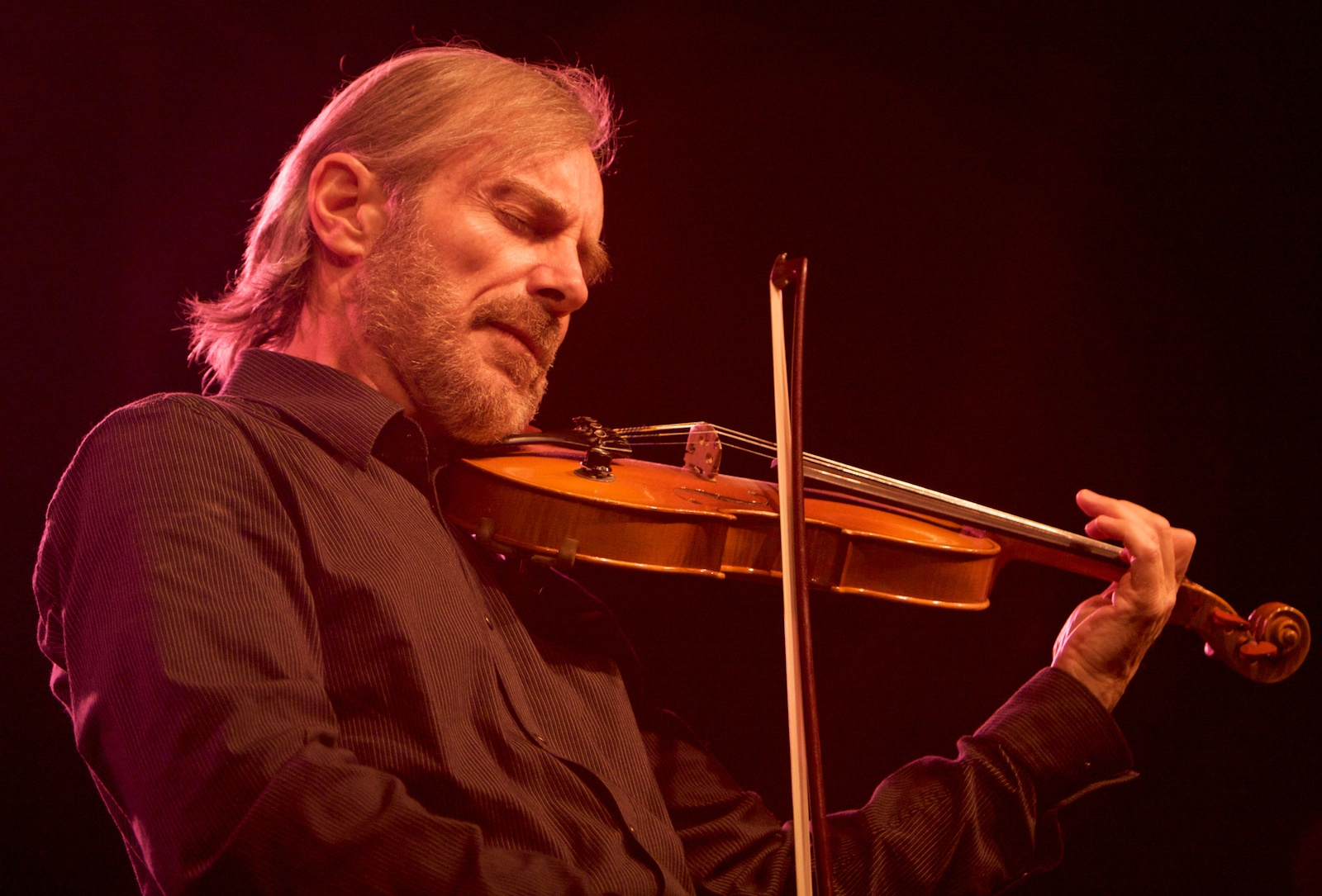 Jean-Luc Ponty, master of the jazz/fusion violin, has performed with artists from Frank Zappa to Béla Fleck. He brings his touring band to South Park Amphitheater for a free concert. (Photo: Guillaume Laurent)
