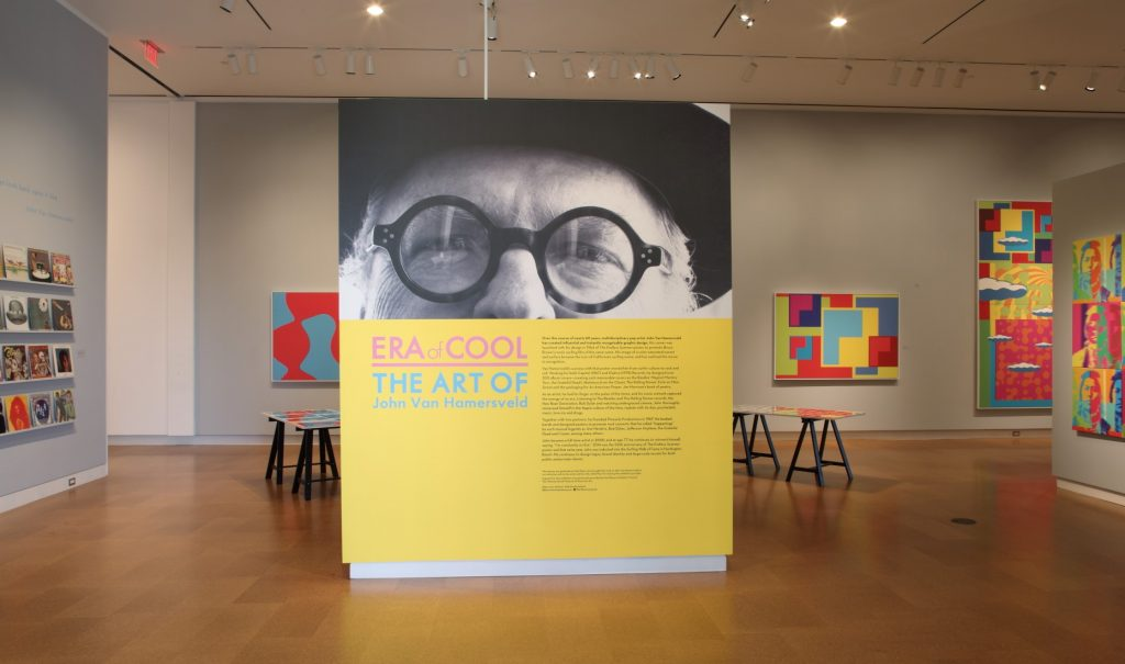 Era of Cool: The Art of John Van Hamersveld exhibition gallery.