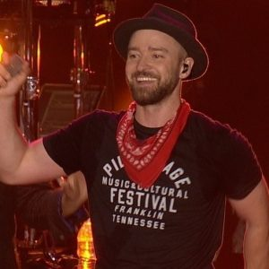 Justin Timberlake performing at the Pilgrimage Festival in September 2017. (Photo: Mark Briello and Wikipedia).