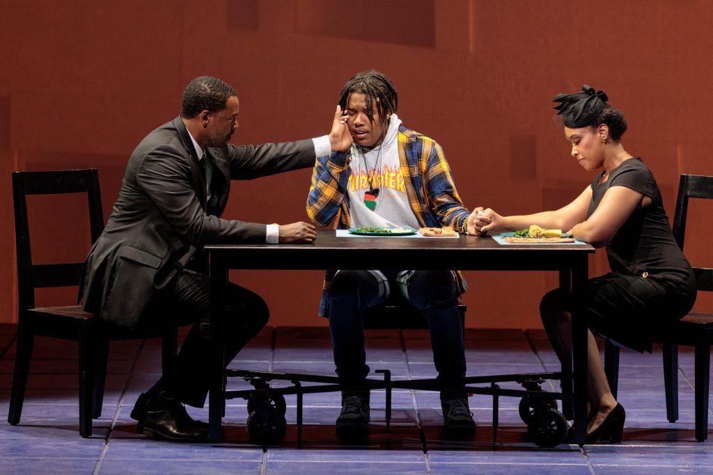 'Blue' is an innovative new opera regarding modern-day African American family life. (photo: Karli Cadel)