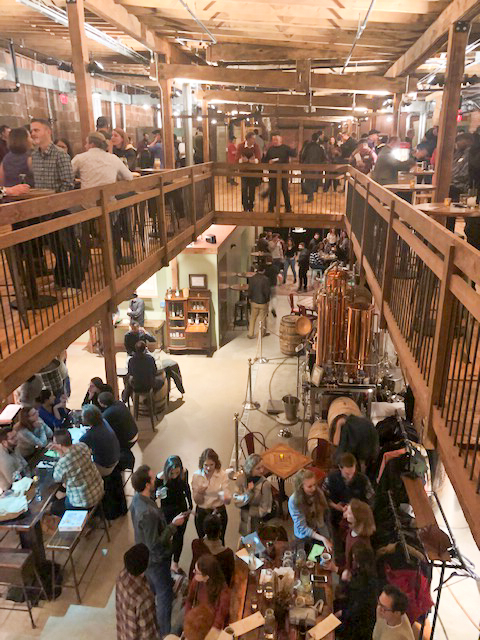 Packed house: Kingfly's second floor is available to rent.