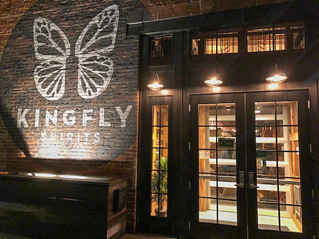 A butterfly logo, symbolizing transformation, emblazons Kingfly's exterior.