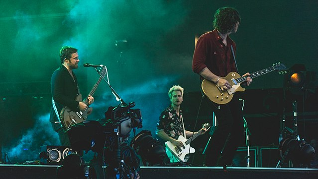 Kings of Leon in action earlier this year. photo: Raph_PH and Wikipedia.