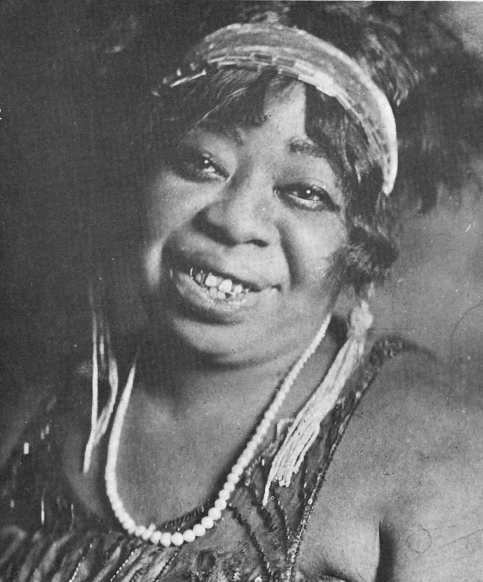 The real Ma Rainey knew the blues—and years later, August Wilson dramatized them. (Photo, 1917, source unknown)