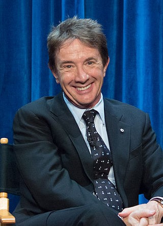 Martin Short at PaleyFest Fall TV Previews 2014 for the TV show 'Mulaney.' photo: Dominick D and Wikipedia.