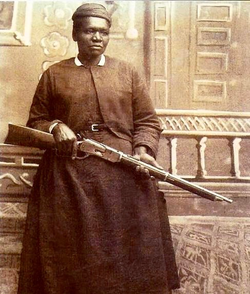 There's no better subject for theater by mail than Mary Fields, a.k.a. 'Black Mary.' A former slave, she delivered mail in the Wild West undaunted by snow, hail, or bad guys. (photo circa 1895)