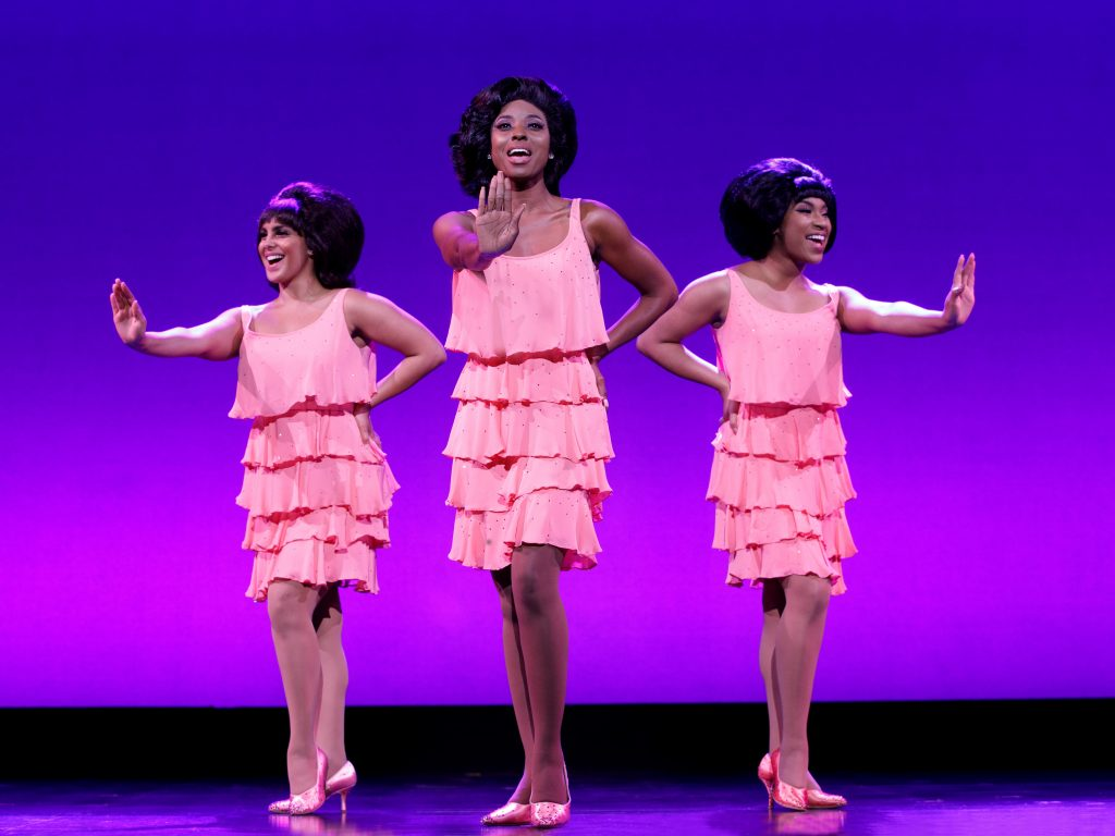 The Supremes in the touring production of 'Motown the Musical.' Photo: Trust Arts.