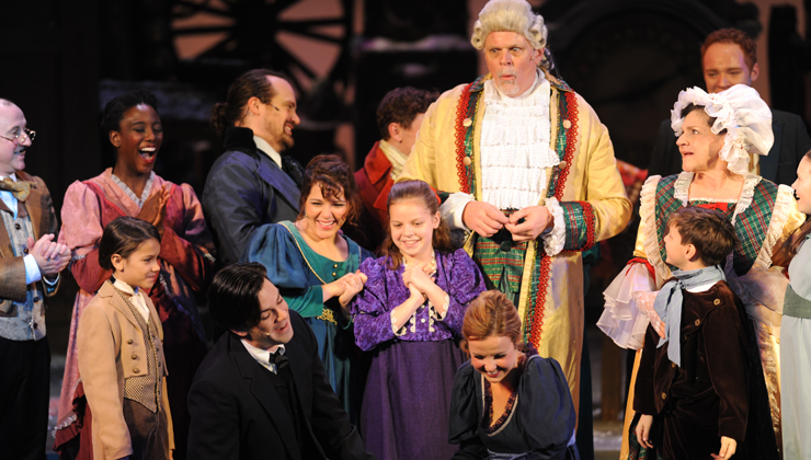 "What the Dickens? Yes indeed, it's ""A Musical Christmas Carol,"" performed by Pittsburgh"