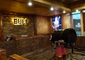 Tequila Cowboy's mechanical bull is ready for your ride.