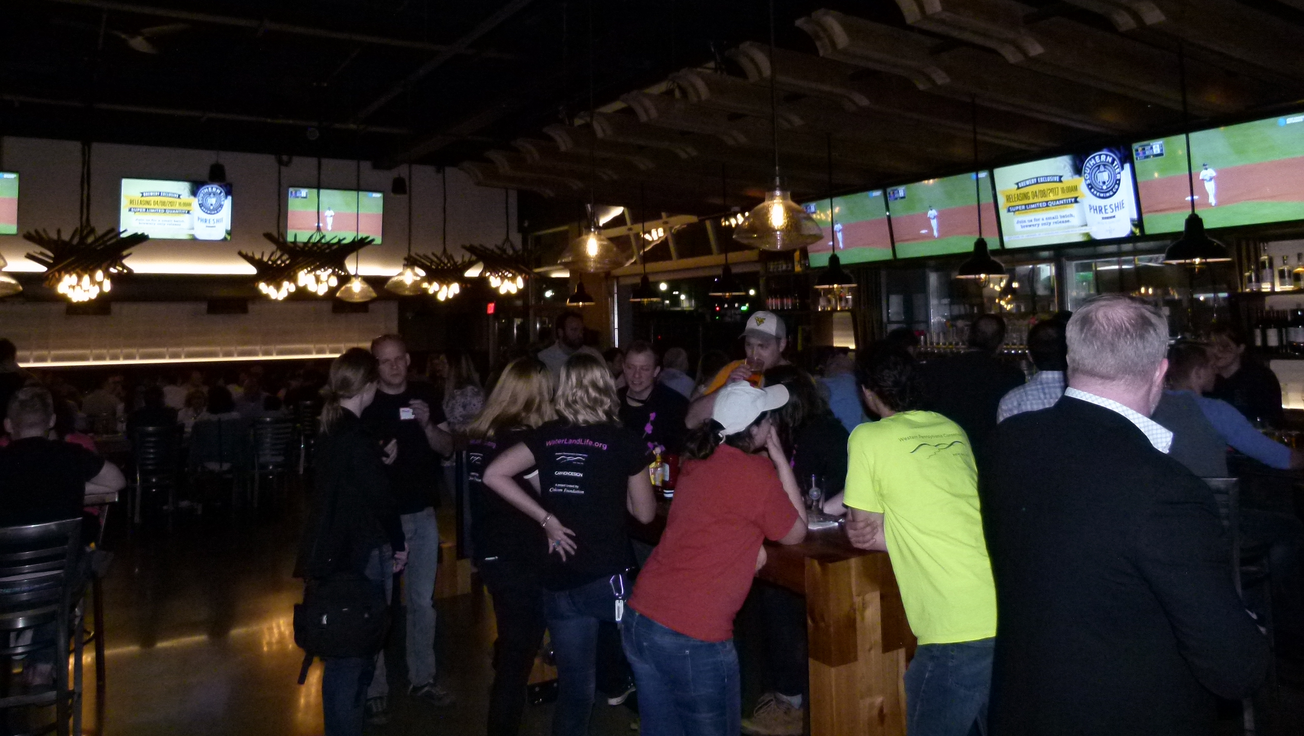 Southern Tier features their own brews, good dining options and plenty of TVs to watch the game.