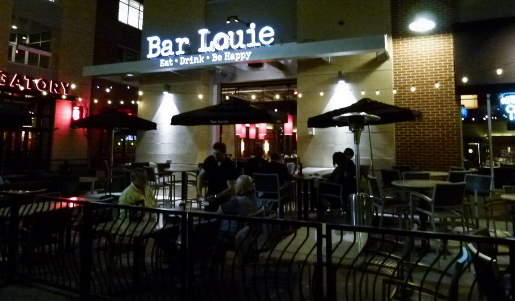 Bar Louie, with Burgatory to the left.