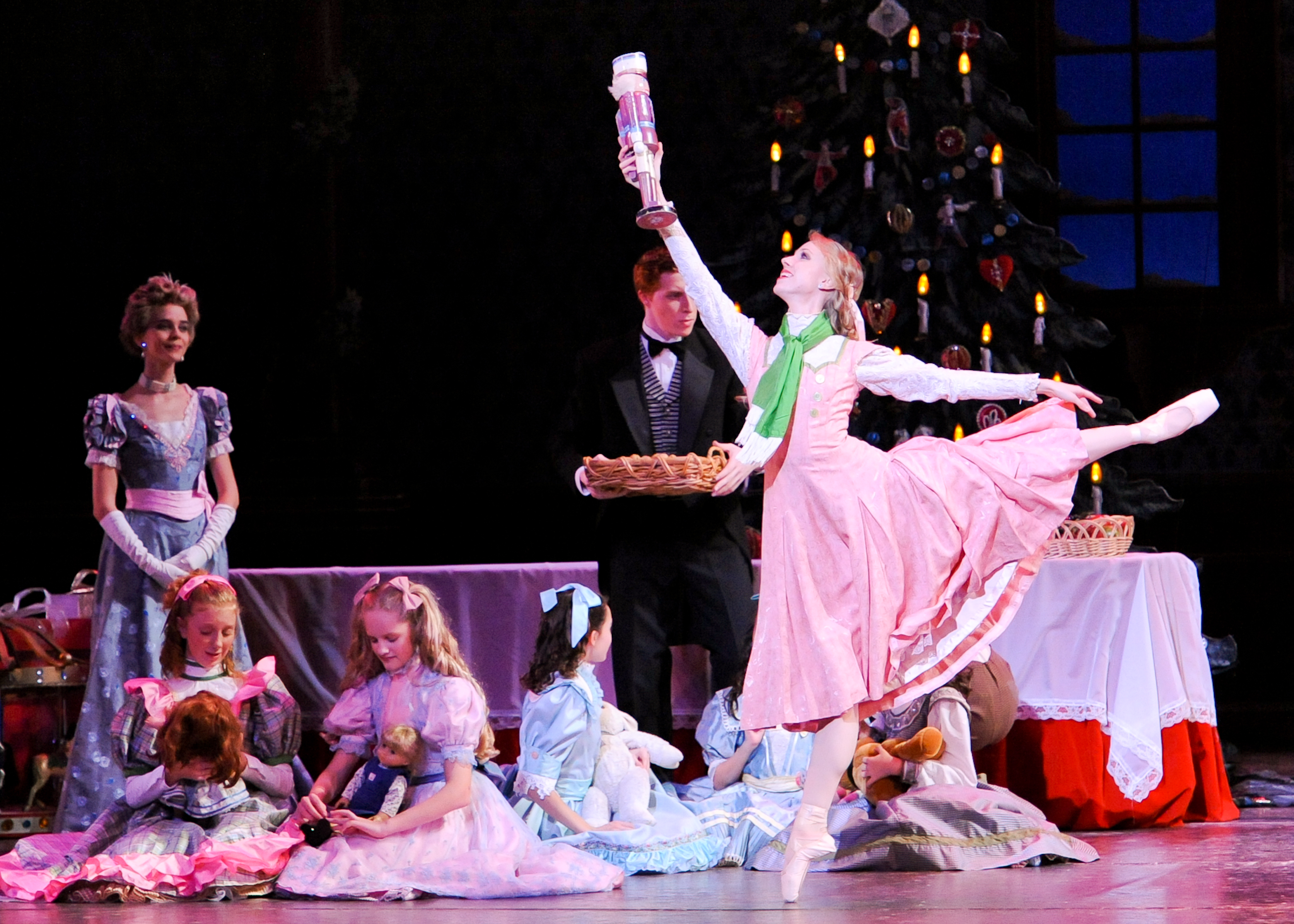 It's Christmas in Pittsburgh circa the 1890s in PBT's unique production of 'The Nutcracker.'