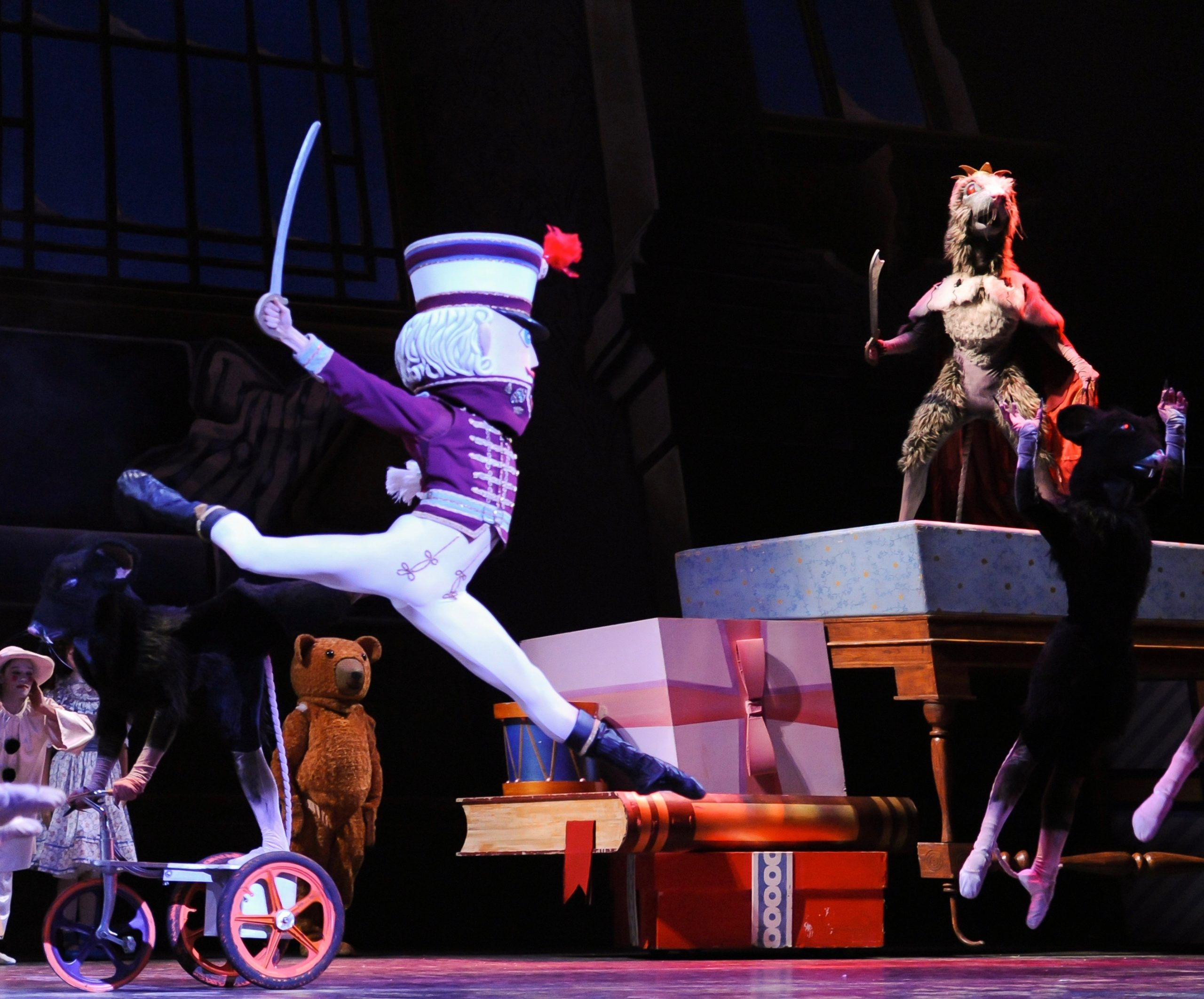 December Theater Guide: Scrooge, Santa, Nutcracker Star in Historic Sweep by Holiday Shows