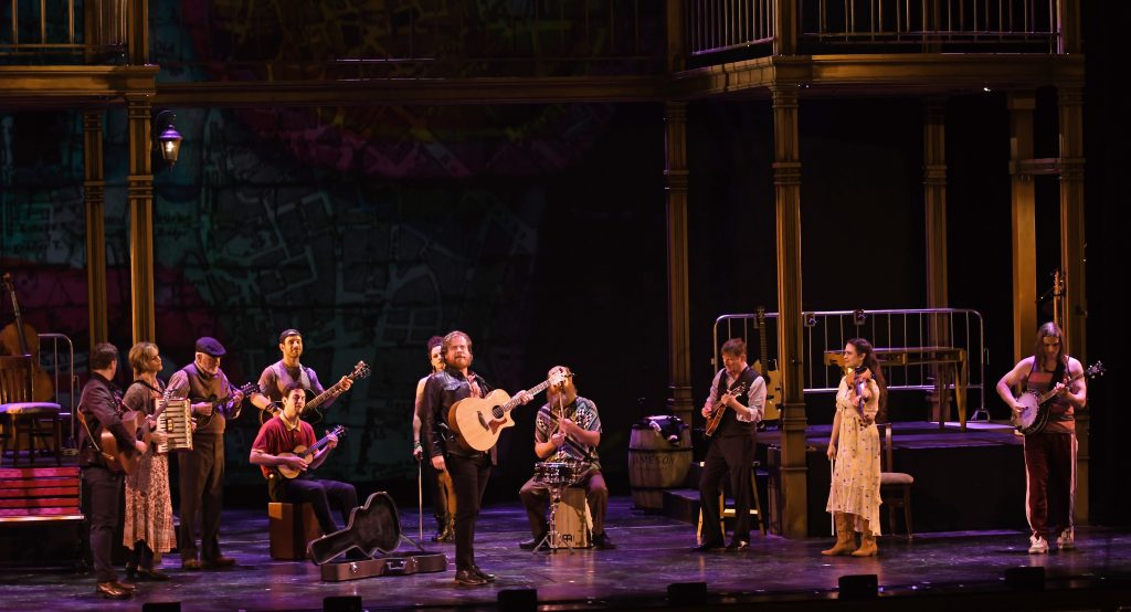 Pittsburgh CLO's 'Once' features a talented cast of actor/musicians. (photo: Matt Polk)