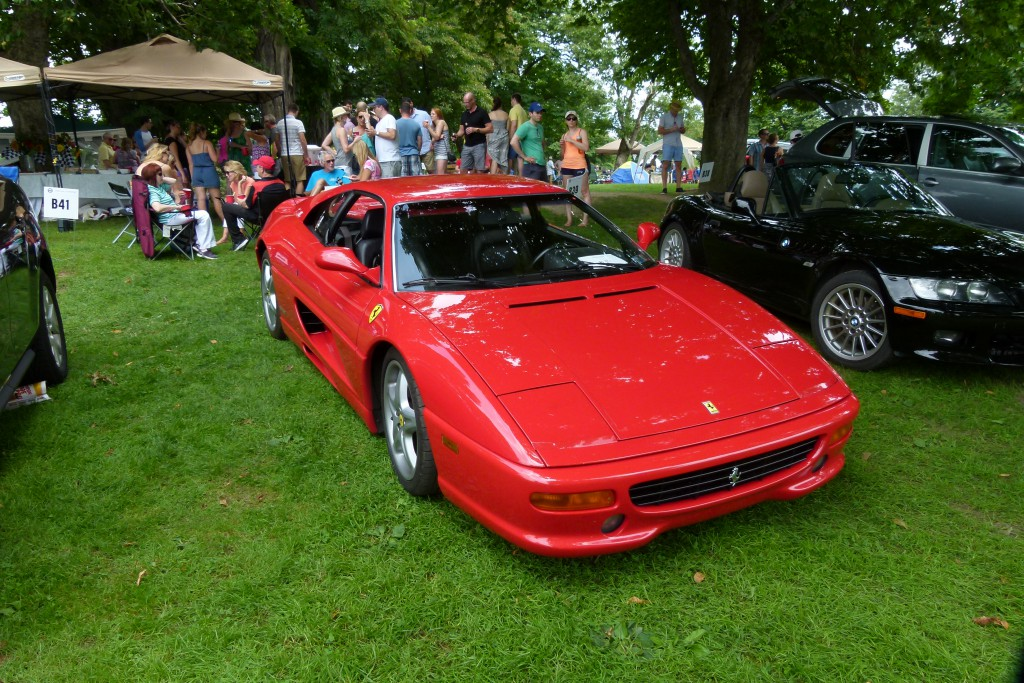 The Marques of Italy was the Pittsburgh Vintage Grand Prix's Marque of the Year 2015. Ferrari pictured.