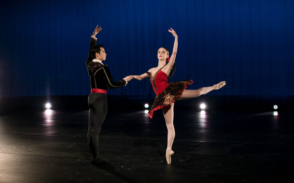 One of the pieces that Pittsburgh Ballet will be performing is from their production of 'Don Quixote.' Pictured are Yoshiaki Nakano and Jessica McCann. (photo: Kelly Petrovich)