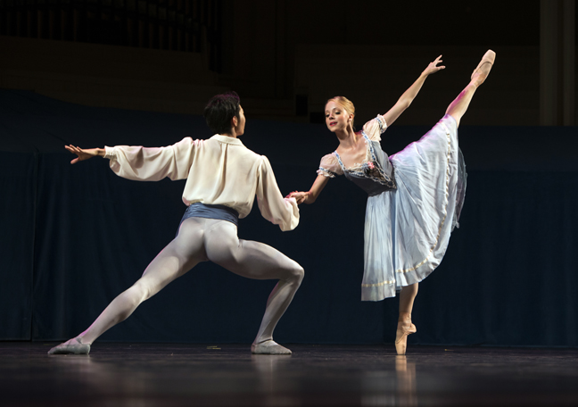 Pittsburgh Ballet Theatre performs The Peasant Pas de Deux from Giselle at Chautauqua Institution