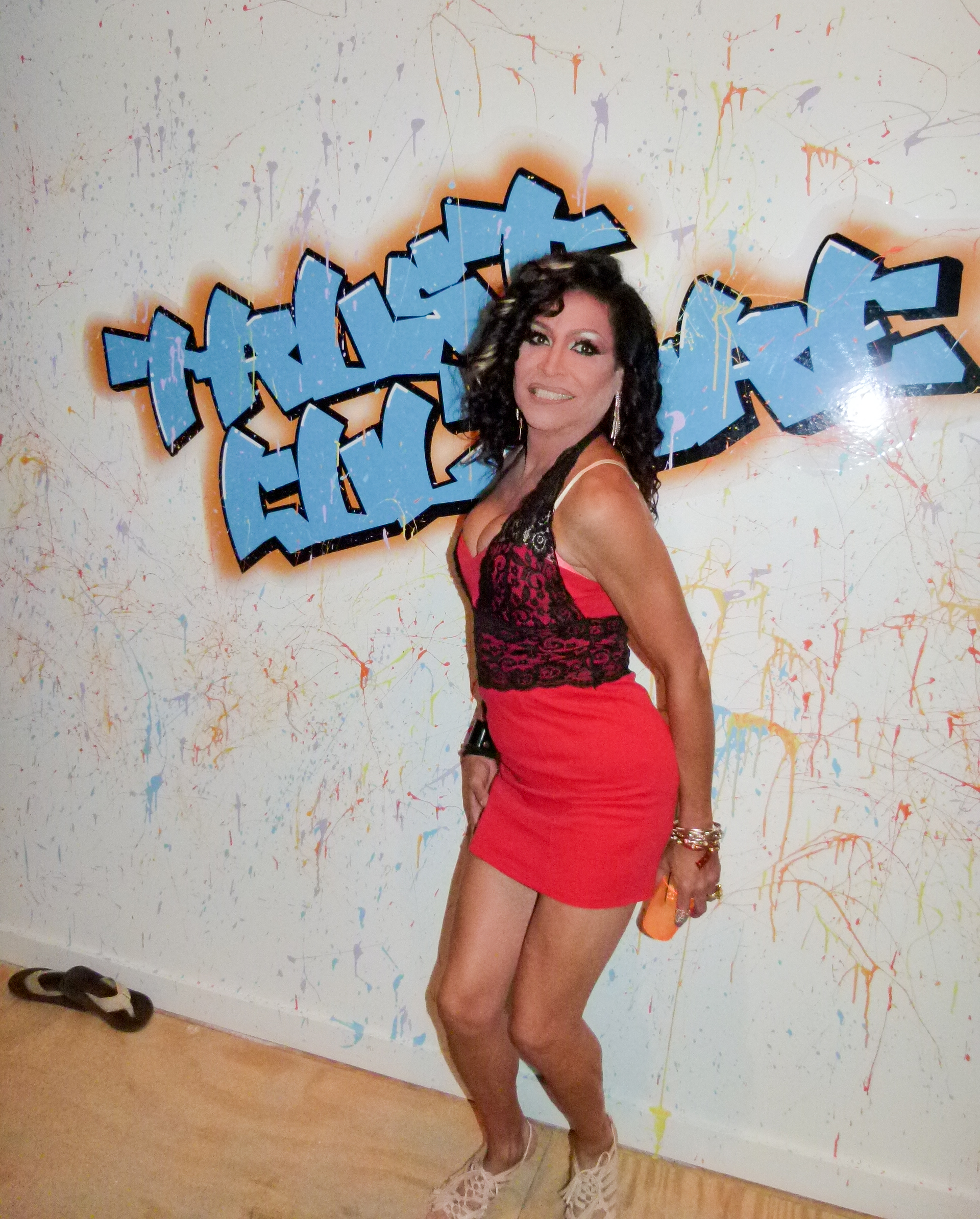 Jezebel, a charismatic drag queen diva.