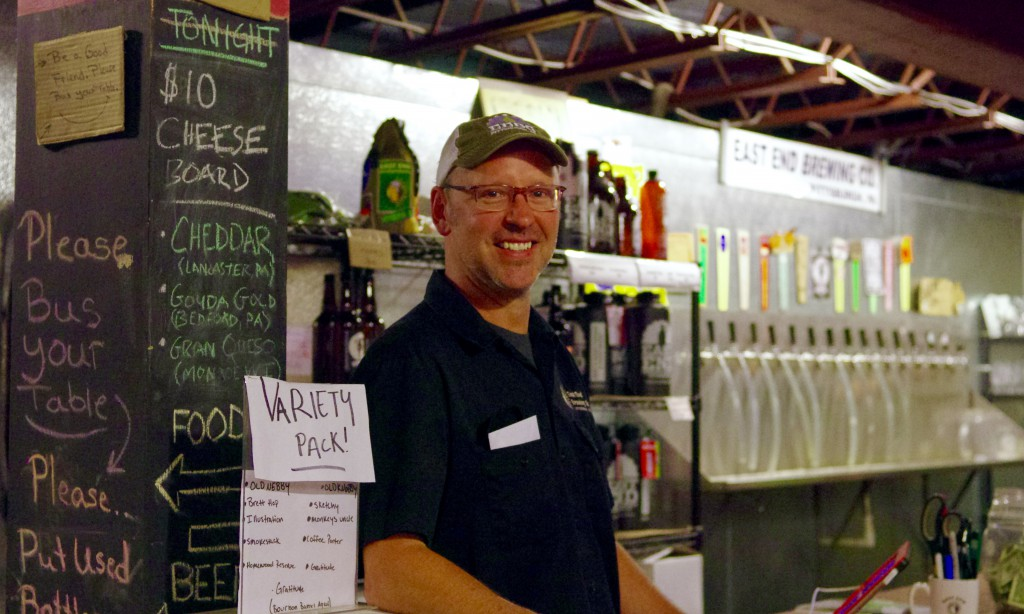 Owner Scott Smith has been brewing at East End since 2004.