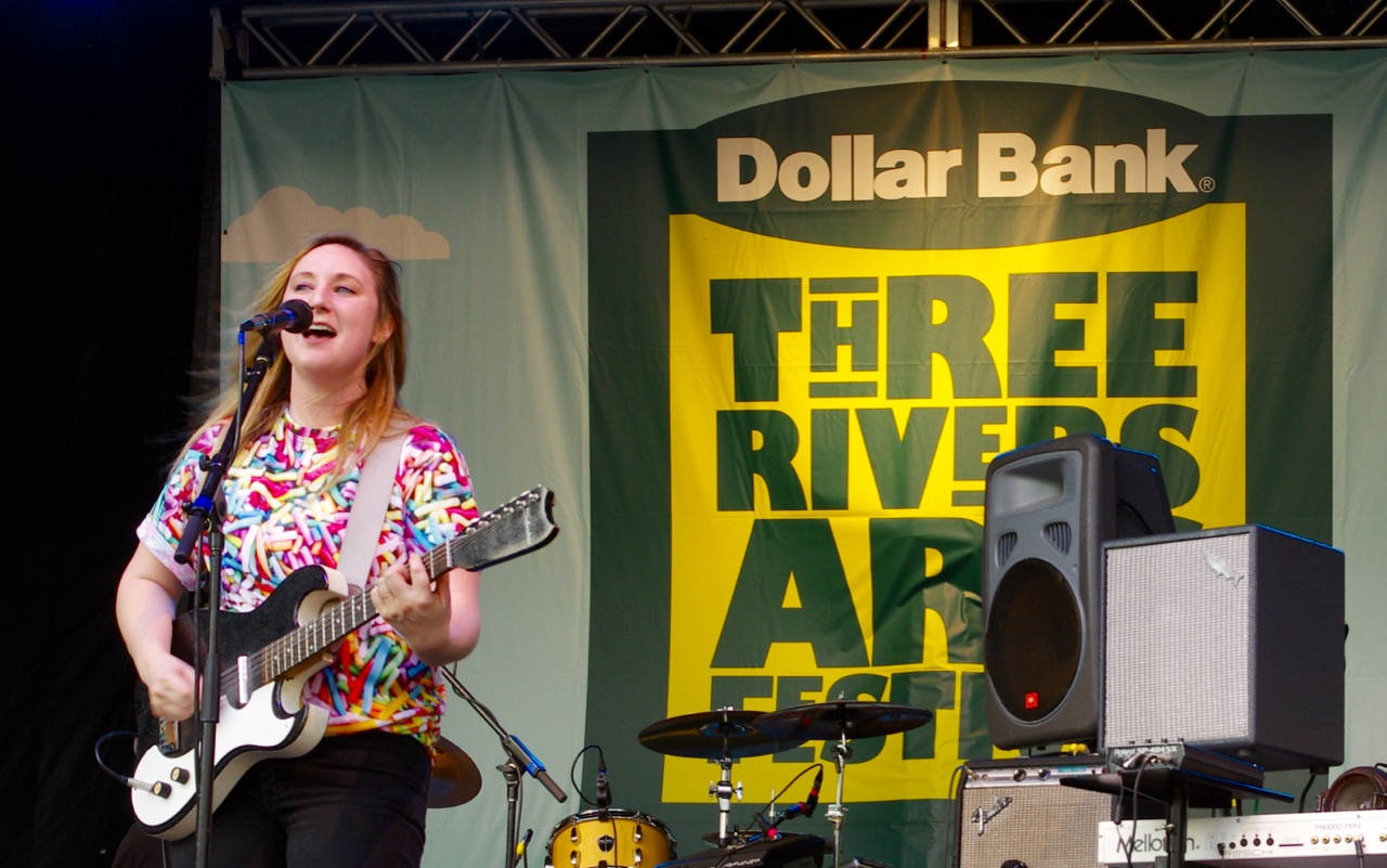 Vocalist Casey Hanner performed with Donora despite battling a cold.