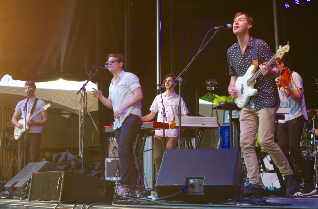 Seattle band Hey Marseilles brought their cinematic sound to the Three Rivers Arts Festival.