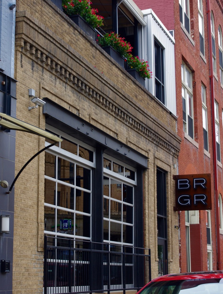BRGR in East Liberty is the original location, and opened more than four years ago.