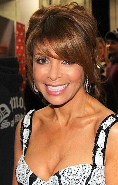 Paula Abdul backstage at the The X Factor in 2011. photo: Alison Martin.