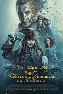 Disney's 'Pirates of the Caribbean, Dead Men Tell No Tales.' photo: Comingsoon.net and Wikipedia.