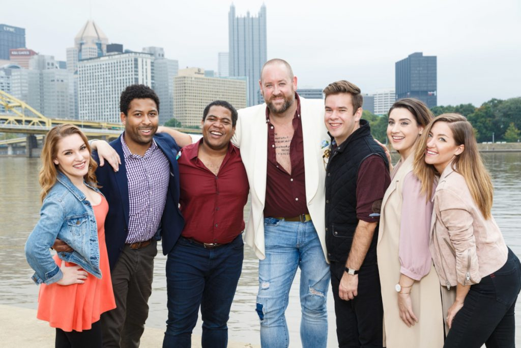 Pittsburgh Opera's Downtown Divas will be singing on Saturday afternoon. (photo: Pittsburgh Opera).
