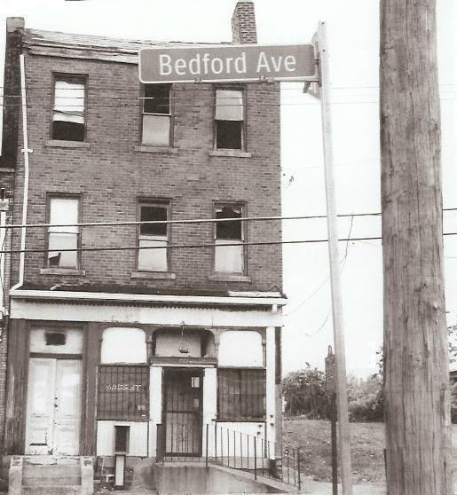 "August Wilson's boyhood home, in disrepair in this undated photo, is being restored as a neighborhood arts center. The backyard staging of ""Seven Guitars"" will wake echoes of the scene in Wilson's day."