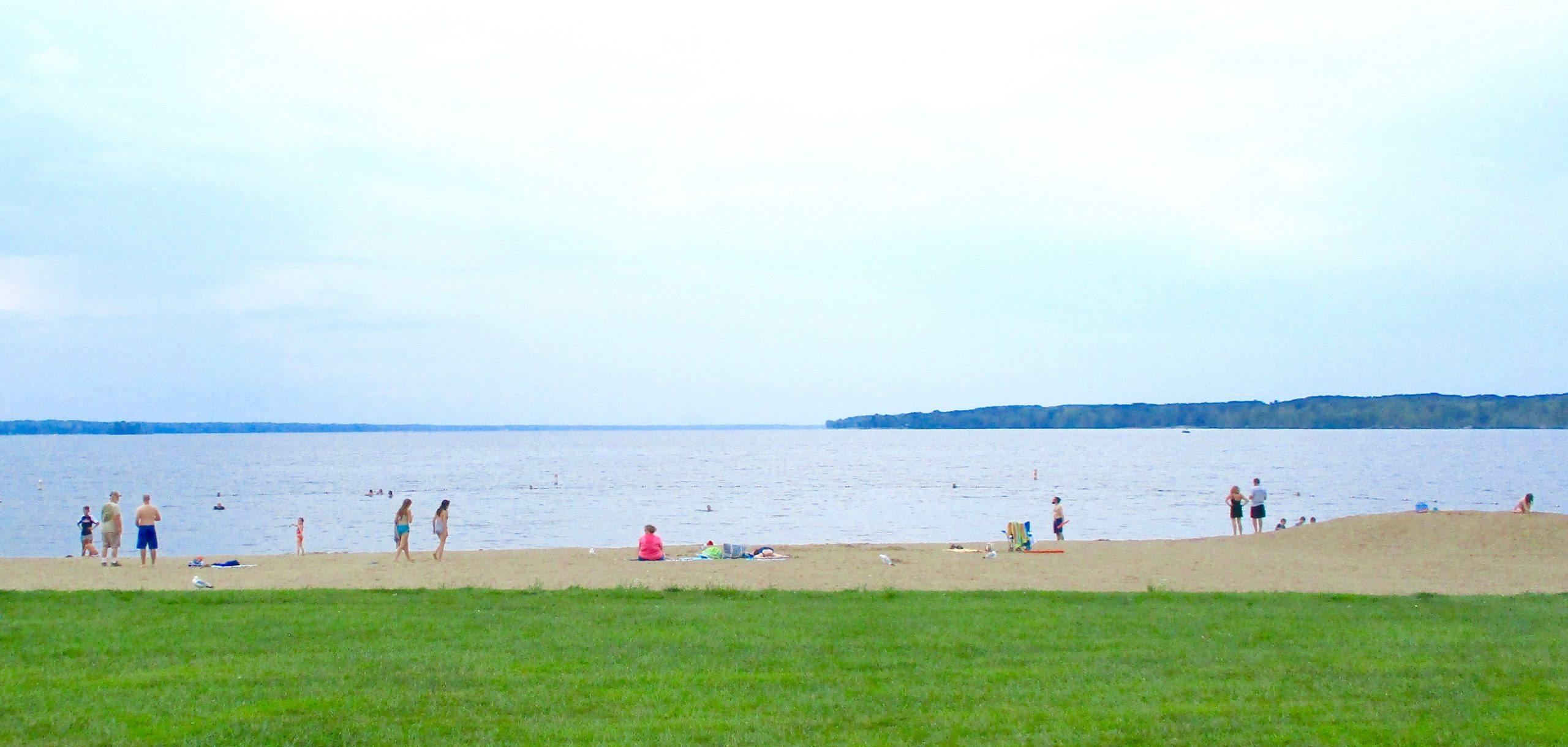 Look beyond the city to find wide-open beaches at state parks. This is one of several on the big lake at Pymatuning.