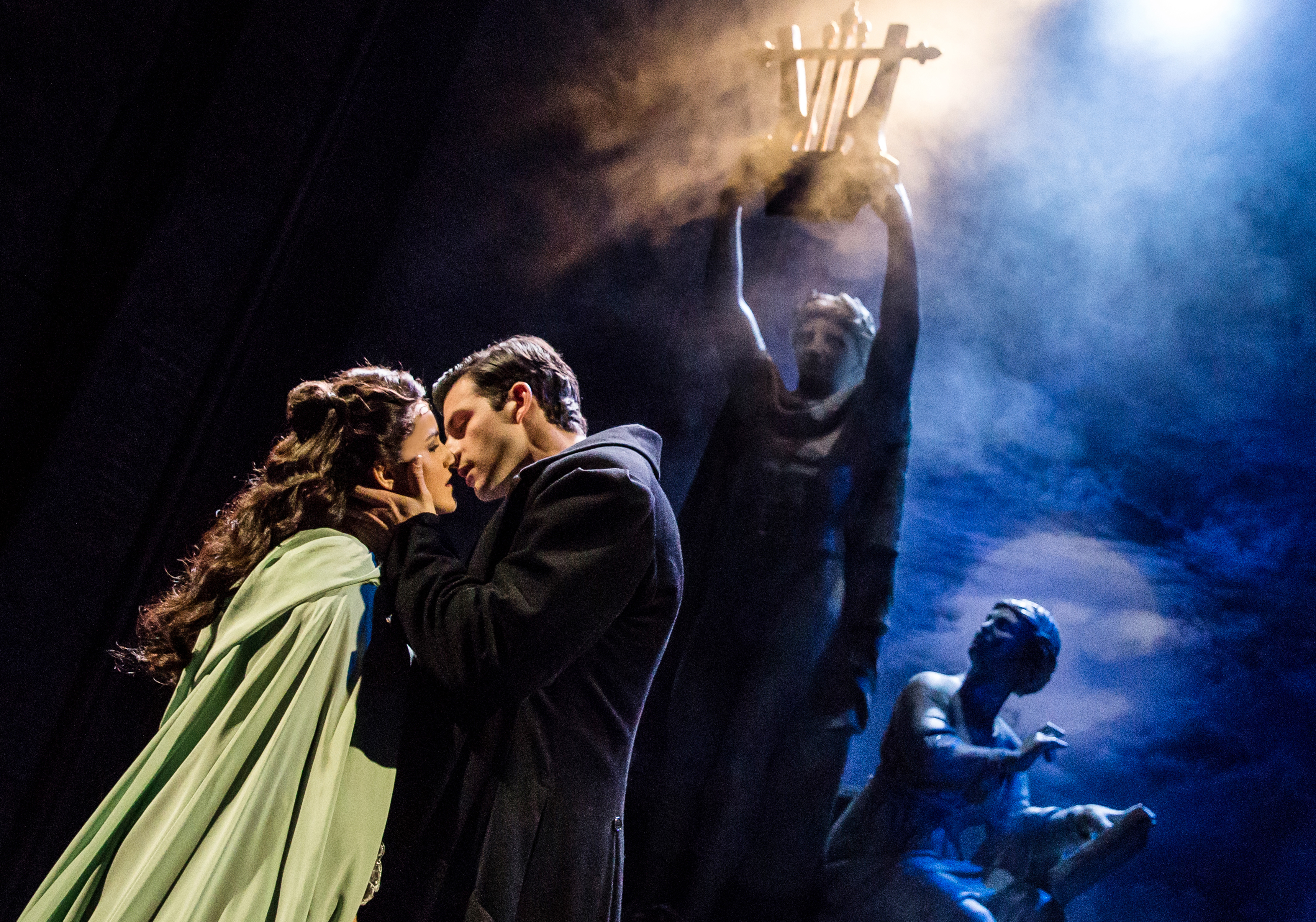 You want spooky effects, you got 'em, in the new 'Phantom of the Opera' that visits Pittsburgh. (photo: Matthew Murphy)