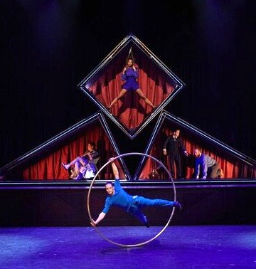 Montreal's Cirque Éloize premieres 'Hotel' in Pittsburgh. (Photo: Madigan Greiner)