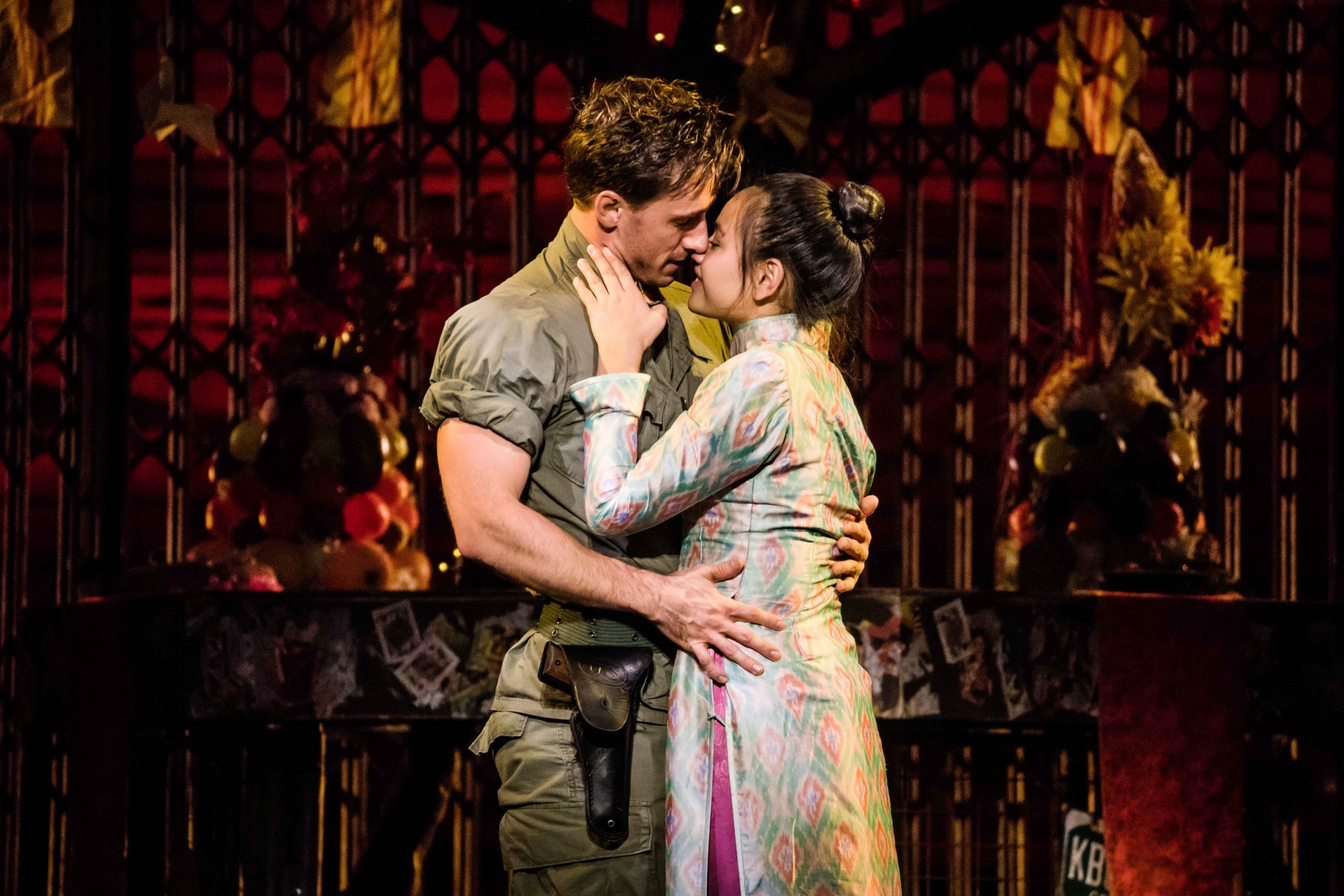 In 'Miss Saigon,' love blooms but does not necessarily conquer all. (photo: Matthew Murphy)