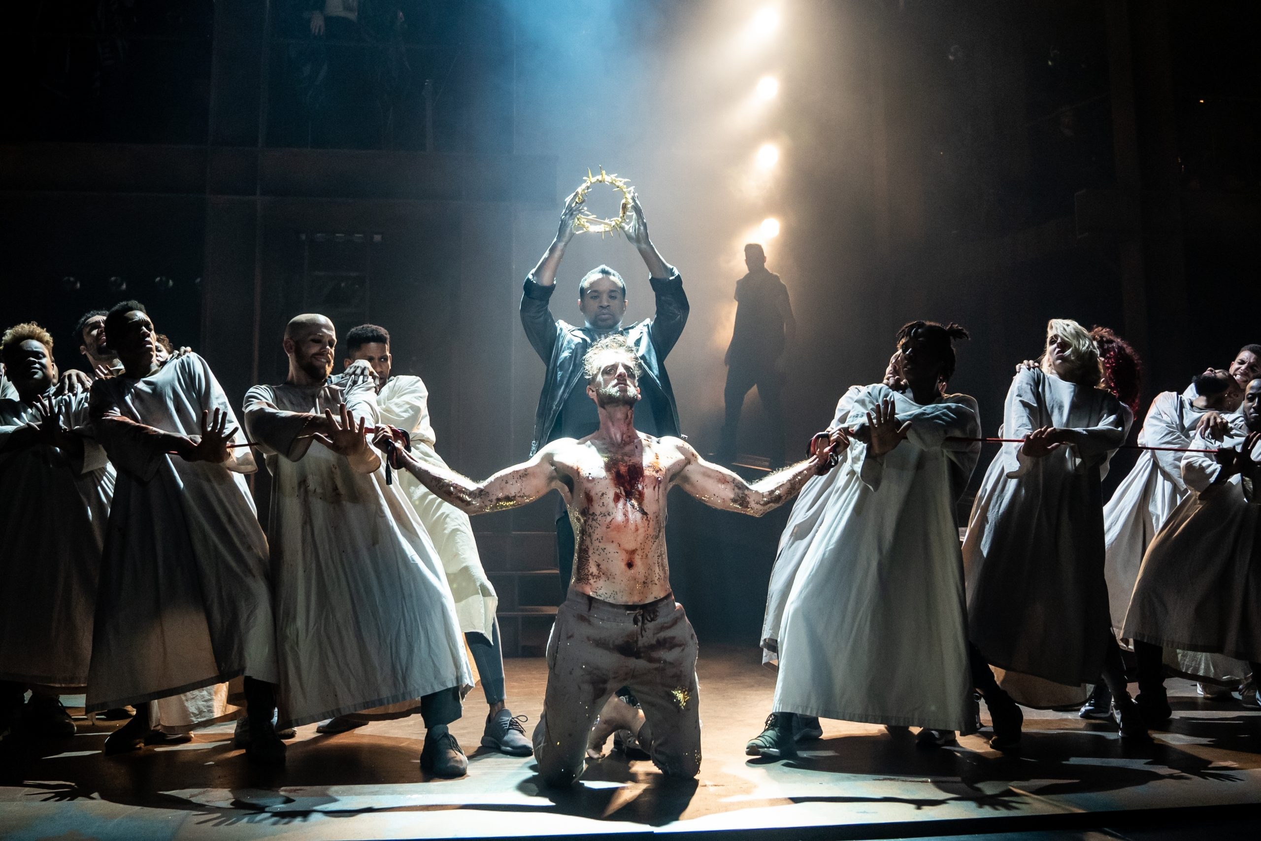 The new touring production of 'Jesus Christ Superstar' leads off a noteworthy series of music-related shows taking Pittsburgh theater into the new year. (photo: Matthew Murphy)