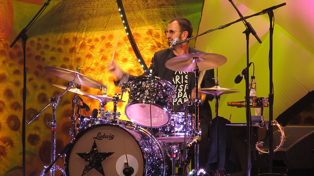 Ringo Starr perfoming with his All-Starr Band in Paris in 2011. photo: Jean Fortunet.
