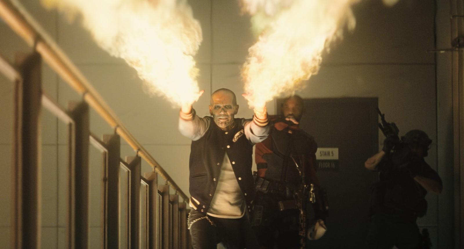 Diablo (Jay Hernandez) possesses some impressive firepower.