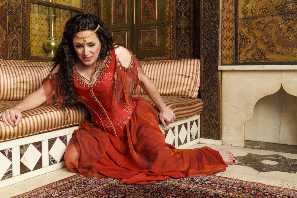 Femme fatale: soprano Patricia Raceme is a steaming Salome in Strauss's opera, one of many classics on Pittsburgh stages in this year's 11th month.