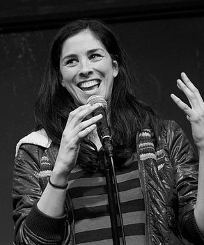 Sarah Silverman performing at Upright Citizens Brigade in Los Angeles, January 2013. photo: Kevintporter.